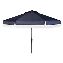 Safavieh UV Resistant Milan 9-Foot Crank Umbrella