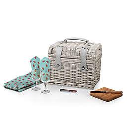 Picnic Time® Napa Wine & Cheese Basket
