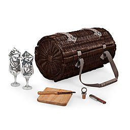 Picnic Time® Verona Wine & Cheese Basket in Red