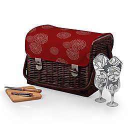 Picnic Time® Kabrio Wine & Cheese Basket