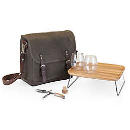 Picnic Time® Adventure Wine Tote in Khaki