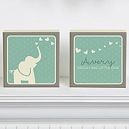 Baby Zoo Shelf Blocks