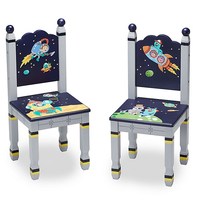 Alternate image 1 for Fantasy Fields Outer Space Chairs (Set of 2)