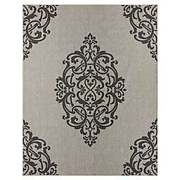 Mohawk Home Oasis Paloma 8-Foot 3 x 10-Foot Area  Rug in Onyx