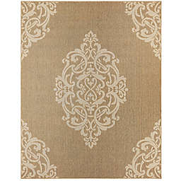 Mohawk Home Oasis Paloma 8-Foot 3 x 10-Foot Area  Rug in Natural
