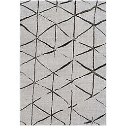 Surya Solaris Global 7-Foot 10-Inch x 10-Foot 10-Inch Area Rug in Grey