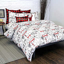 Alamode Home Great White North Duvet Cover