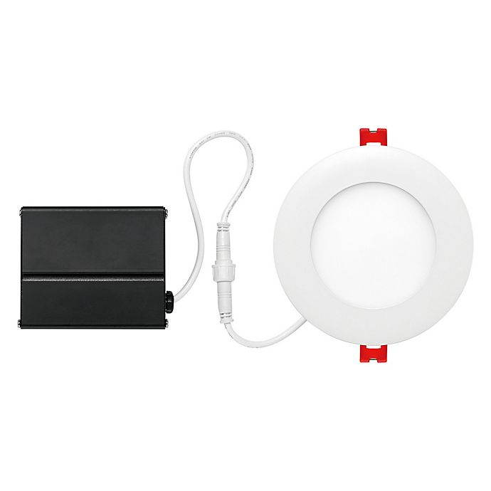 Globe Electric 4-Inch Ceiling-Mount Integrated LED Slim ...