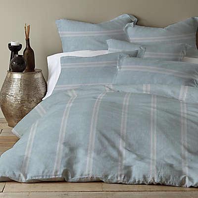 Levtex Home Washed Linen/Cotton Blend Duvet Cover