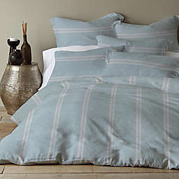 Levtex Home Washed Linen/Cotton Blend Duvet Cover