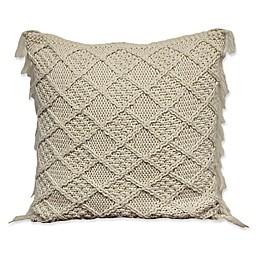 Alamode Home Kasbah Coachella European Pillow Sham in Ivory