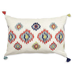 Alamode Home Kasbah Oblong Throw Pillow in Ivory