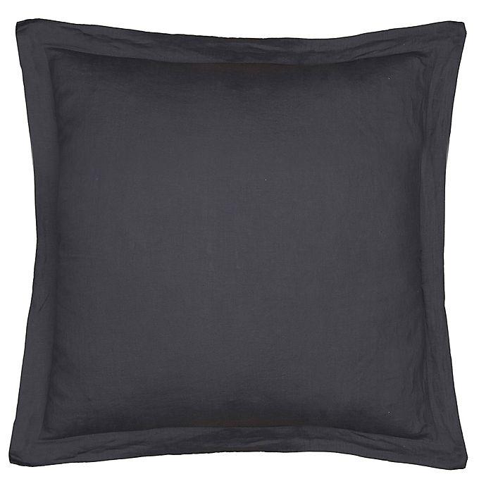 Levtex Home Washed Linen European Pillow Sham Bed Bath