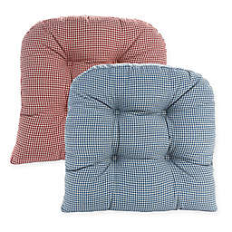 Klear Vu Gripper® Mini Gingham Chair Pads (Set of 2)