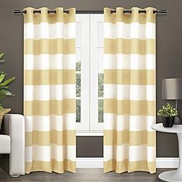 Surfside Grommet Top Window Curtain Panel Pair