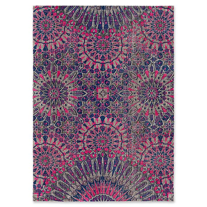 Alternate image 1 for Style Statements by Surya Halwood 5-Foot 3-Inch x 7-Foot 3-Inch Area Rug in Fuchsia
