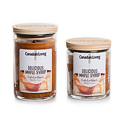 Canadian Living Delicious Maple Syrup Jar Candle
