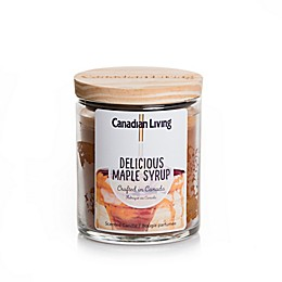 Canadian Living Delicious Maple Syrup 8 oz. Jar Candle