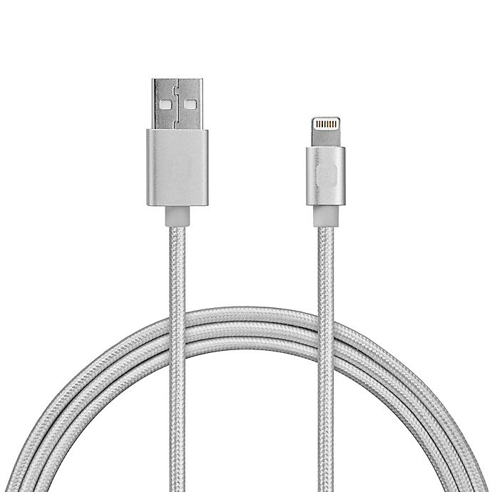 Alternate image 1 for iHome® 10-Foot Lighting Charging Cable