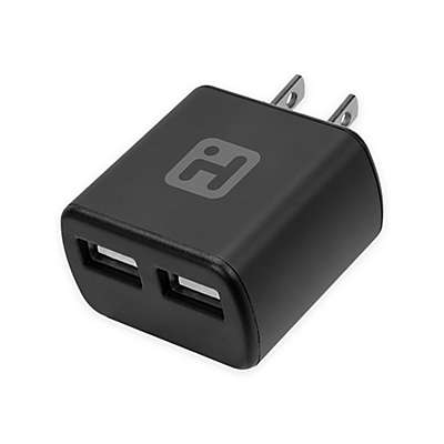 iHome®  2-Port Aluminum Wall Charger