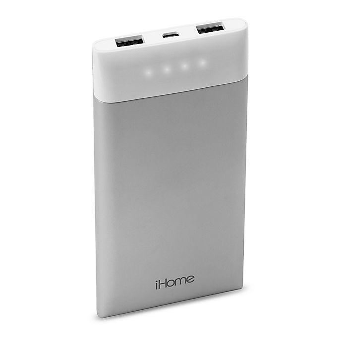 Alternate image 1 for iHome™ Slim Charge 10,000mAh Power Bank
