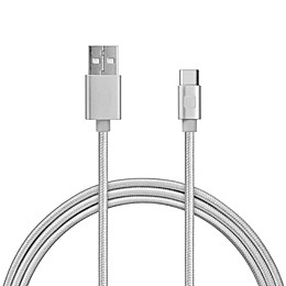 iHome™ 6-Foot Type C USB Cable in Silver
