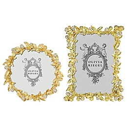Olivia Riegel Cornelia Picture Frame in Gold