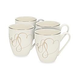 Mikasa® Love Story Mugs (Set of 4)
