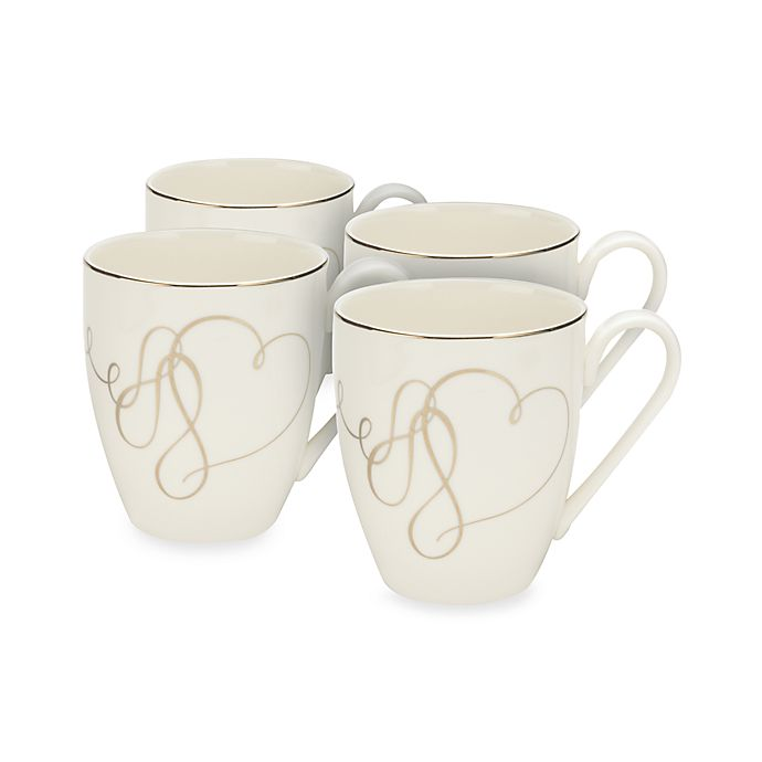 Alternate image 1 for Mikasa® Love Story Mugs (Set of 4)