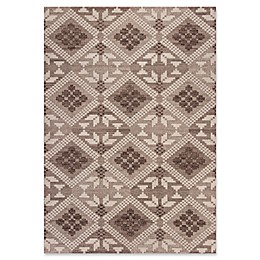 KAS Carmen Boho Chic Rug in Taupe