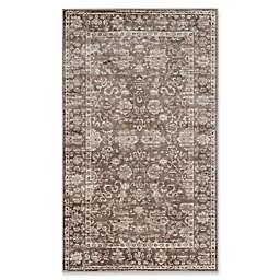 Safavieh Vintage 4-Foot x 5-Foot 7-Inch Area Rug in Brown/Ivory