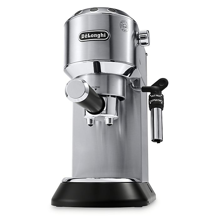 Alternate image 1 for De'Longhi Dedica Deluxe Espresso Machine in Stainless Steel