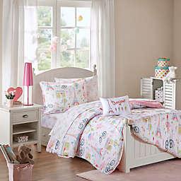 Mi Zone Kids Bonjour Twin Comforter Set in Pink