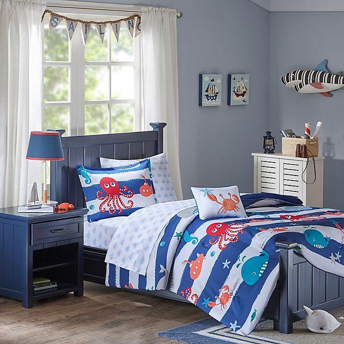 Alternate image 1 for Mi Zone Kids Sealife Comforter Set
