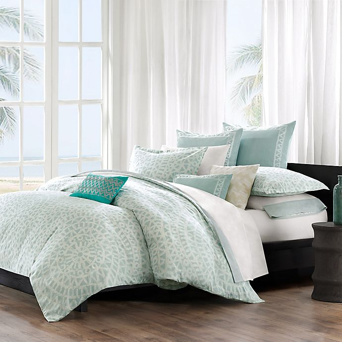 Alternate image 1 for Echo Design™ Twin Duvet Cover Set in Aqua