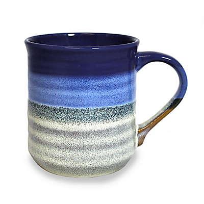 Prima Design Glazed Mug in Cobalt/Grey