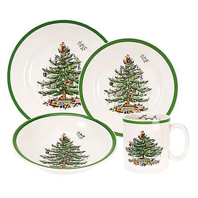 Spode® Christmas Tree 16-Piece Dinnerware Set