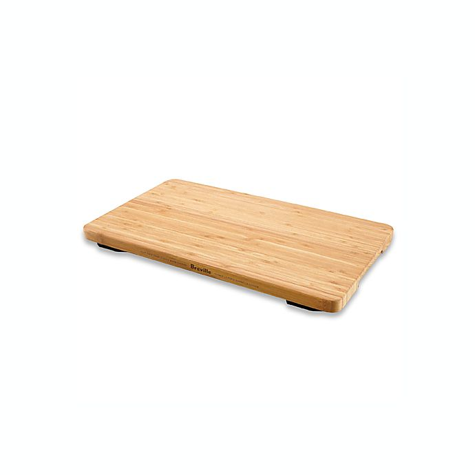 Alternate image 1 for Breville® Bamboo Cutting Board and Tray