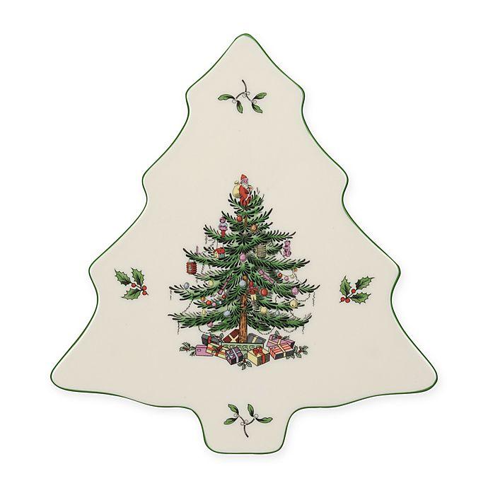 Alternate image 1 for Spode® Christmas Tree Tree-Shaped Trivet