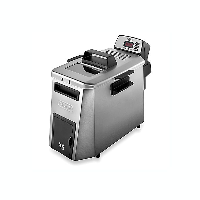 Alternate image 1 for De'Longhi Esclusivo Dual Zone Deep Fat Fryer