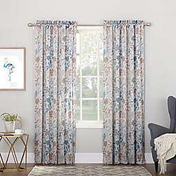 Sun Zero® Allena Rod Pocket Room Darkening Thermal Window Curtain Panel