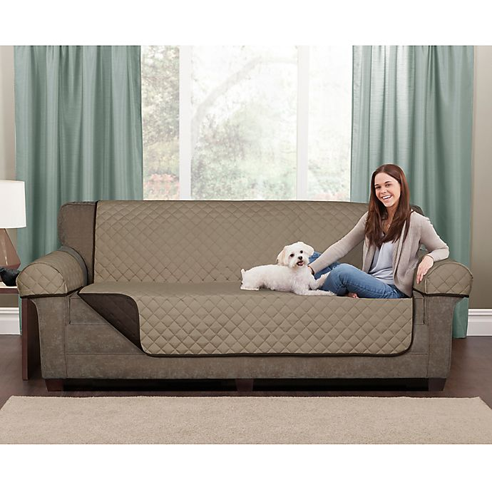 Enjoyable Maytex Reversible Microfiber Pet Furniture Cover Bed Bath Short Links Chair Design For Home Short Linksinfo