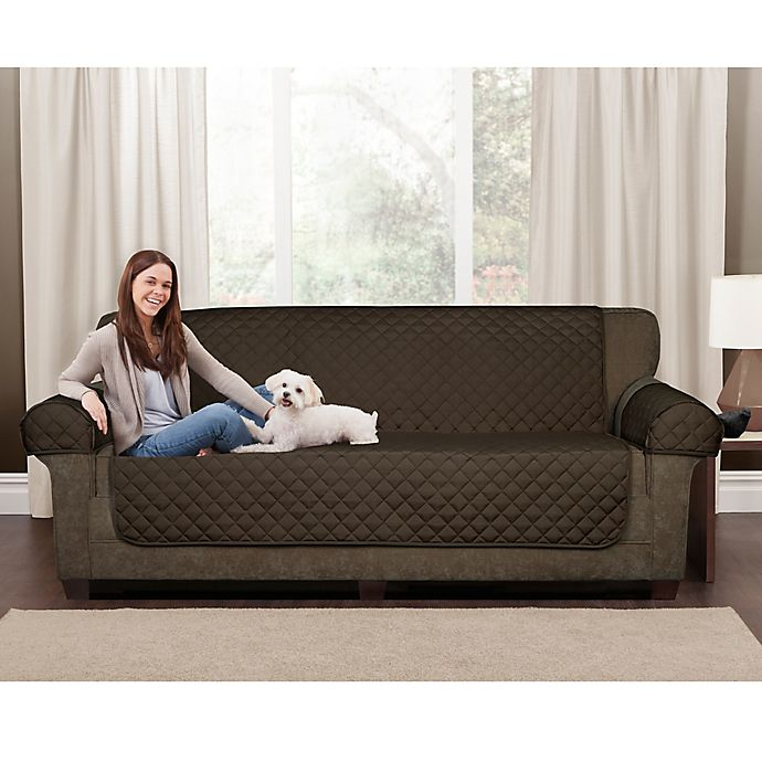 Prime Maytex Waterproof Suede Pet Furniture Cover Bed Bath Beyond Pabps2019 Chair Design Images Pabps2019Com