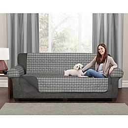 Maytex Reversible Buffalo Check Pet Sofa or Loveseat Cover