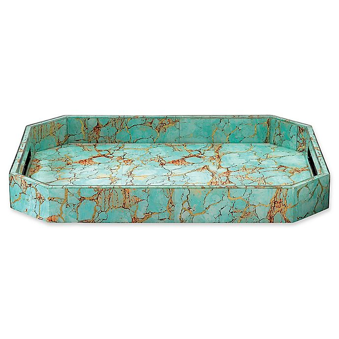 Alternate image 1 for Jamie Young Large Octave Tray in Turquoise