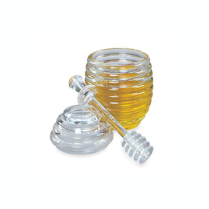 Alternate image 1 for Fox Run® Honey Jar & Dipper