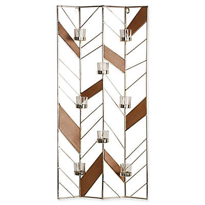 Kate and Laurel Elettra Wall Sconce in Gold