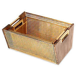 Kate and Laurel Isabelle Nesting Baskets in Gold