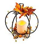 Elements LED Pumpkin Wire Centerpiece