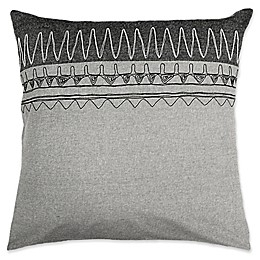 Alamode Home Zemora European Pillow Sham in Grey